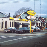 The first Tim Hortons in Hamilton circa 1964