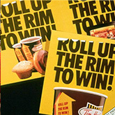 Roll Up the Rim to Win posters