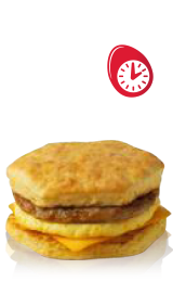 Hot Breakfast Sandwich