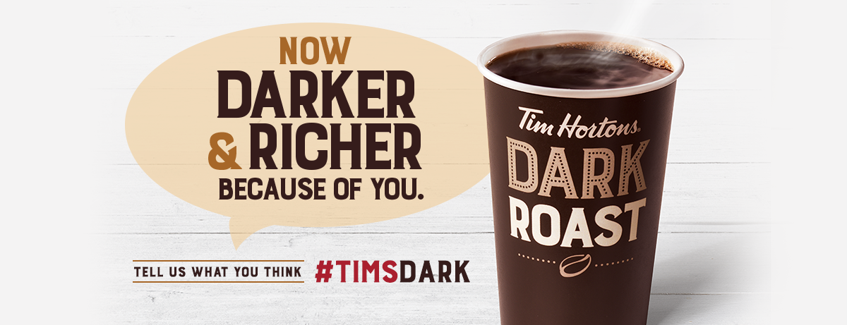 Now Darker and Richer Because of you. Tell us what you think #TIMSDARK