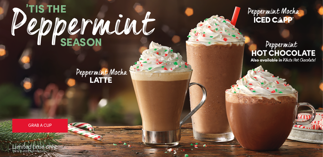 'TIS THE Peppermint SEASON.