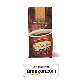 Tim Hortons Whole Bean Coffee, Premium Blend