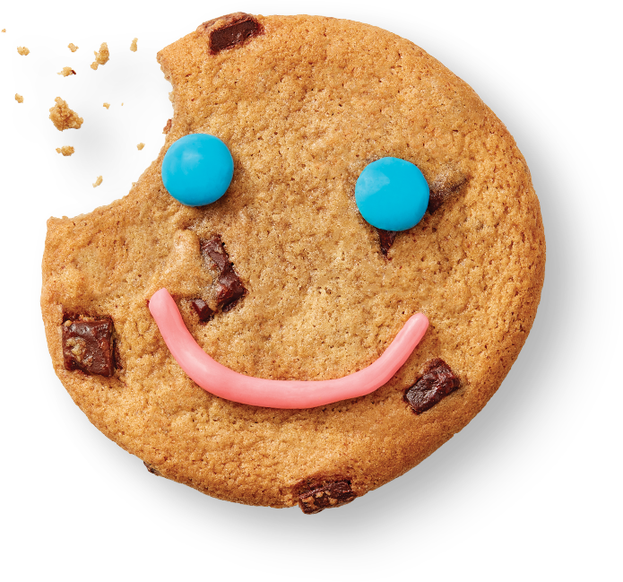 Smile Cookie floating